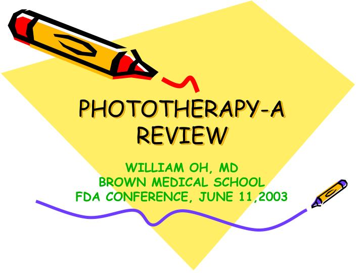 Phototherapy a review