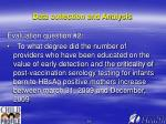 data collection and analysis14