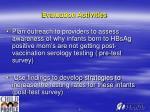 evaluation activities11