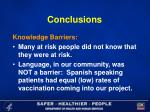 conclusions24