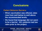conclusions26