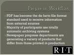 prepress workflow