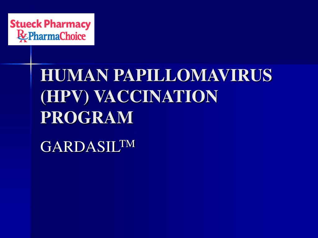 human papillomavirus hpv vaccination program l.