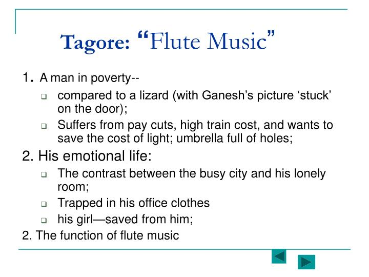 Tagore: