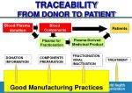 traceability from donor to patient