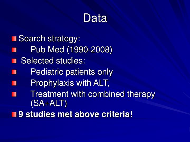 pub med search strategy Which medline do i use see how to get the full-text of an article from a pubmed search for more automatically formulates a search strategy from the.