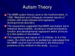 autism theory