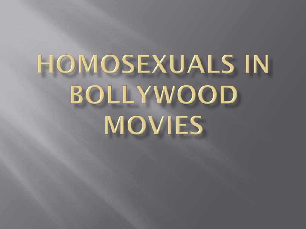 homosexuals in bollywood movies l.