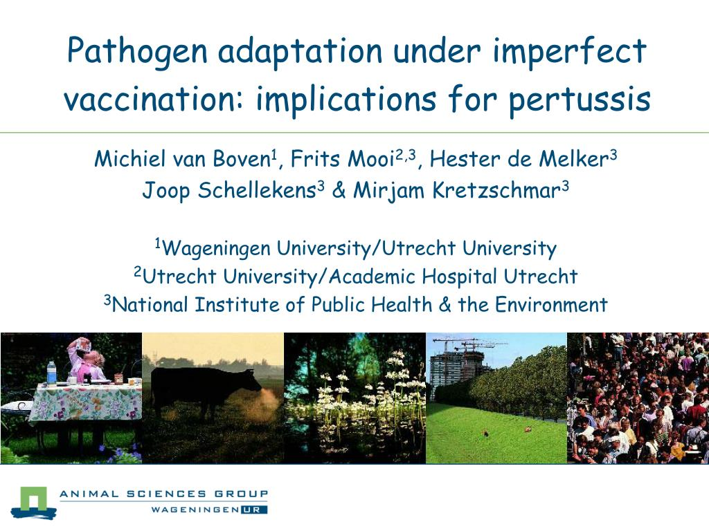 pathogen adaptation under imperfect vaccination implications for pertussis l.