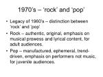 1970 s rock and pop
