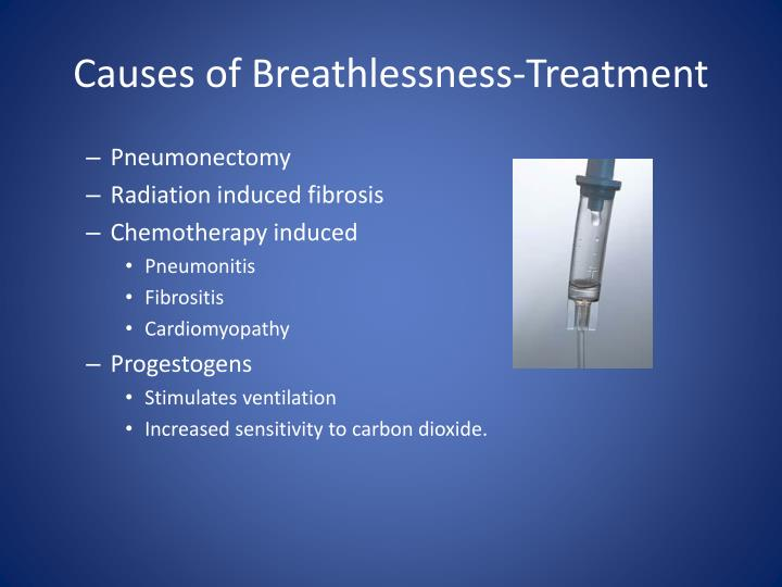 Causes of Breathlessness-Treatment