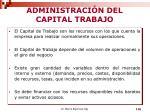 administraci n del capital trabajo1