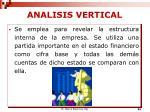 analisis vertical