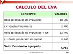 calculo del eva5