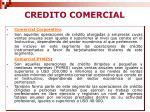 credito comercial