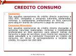 credito consumo