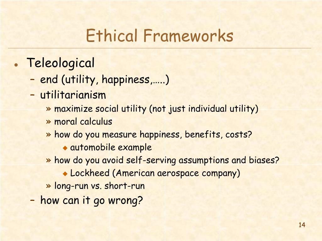 Ethical Frameworks