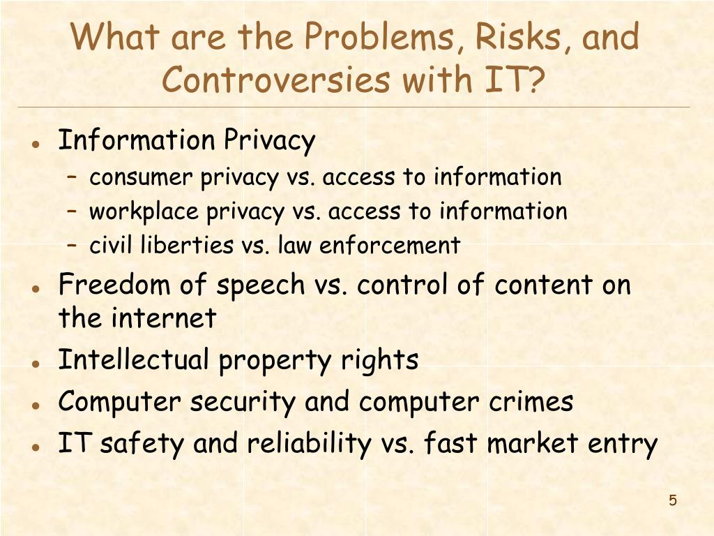 What are the Problems, Risks, and