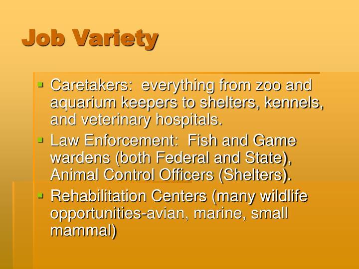 Job Variety