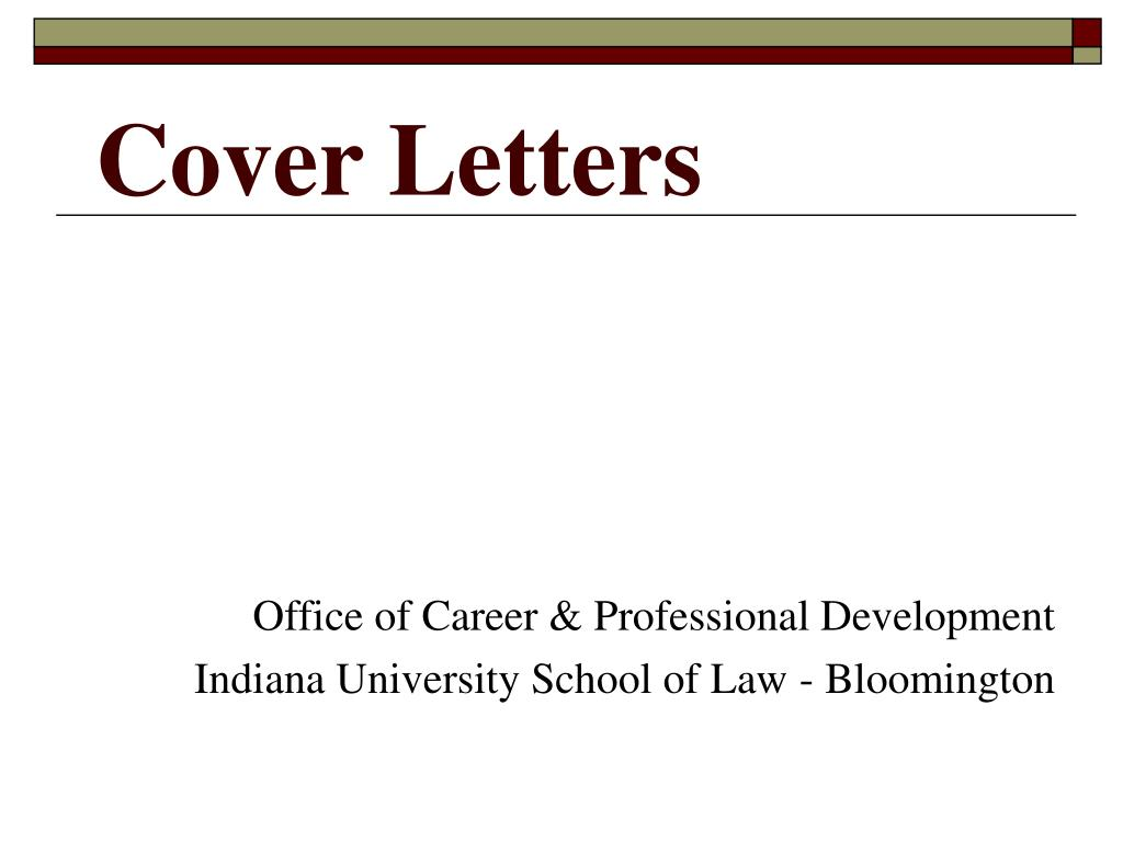 cover letters l.