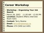 career workshop16
