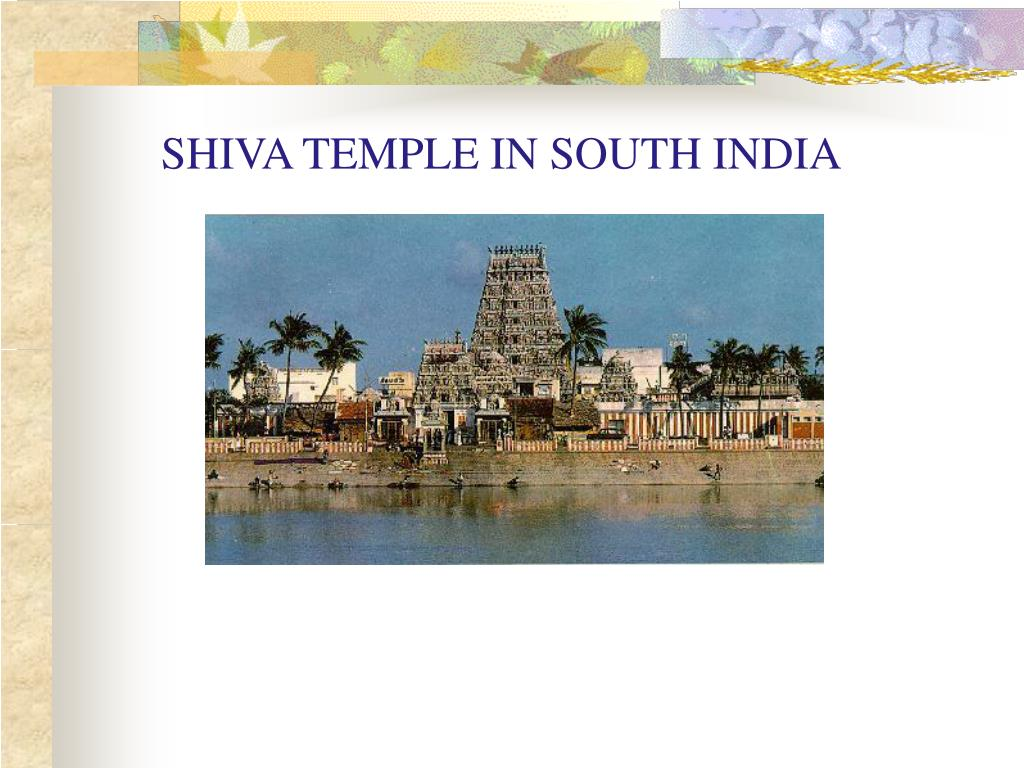 SHIVA TEMPLE IN SOUTH INDIA