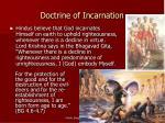 doctrine of incarnation