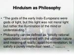 hinduism as philosophy12