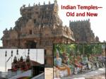indian temples old and new
