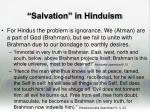 salvation in hinduism