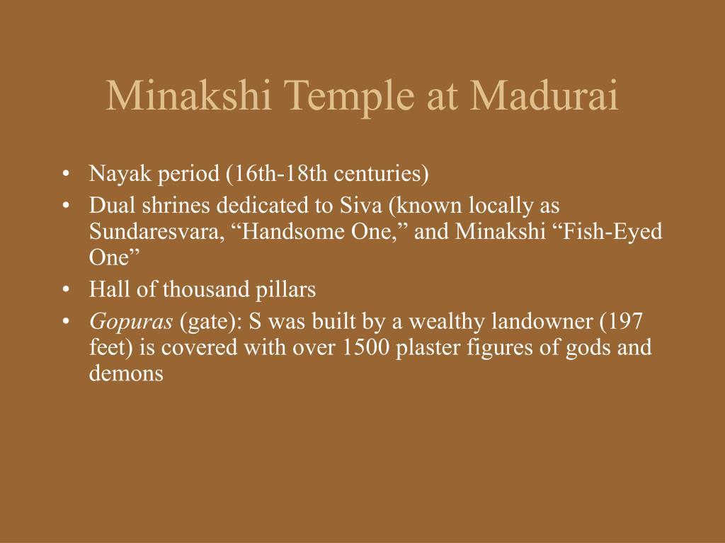Minakshi Temple at Madurai