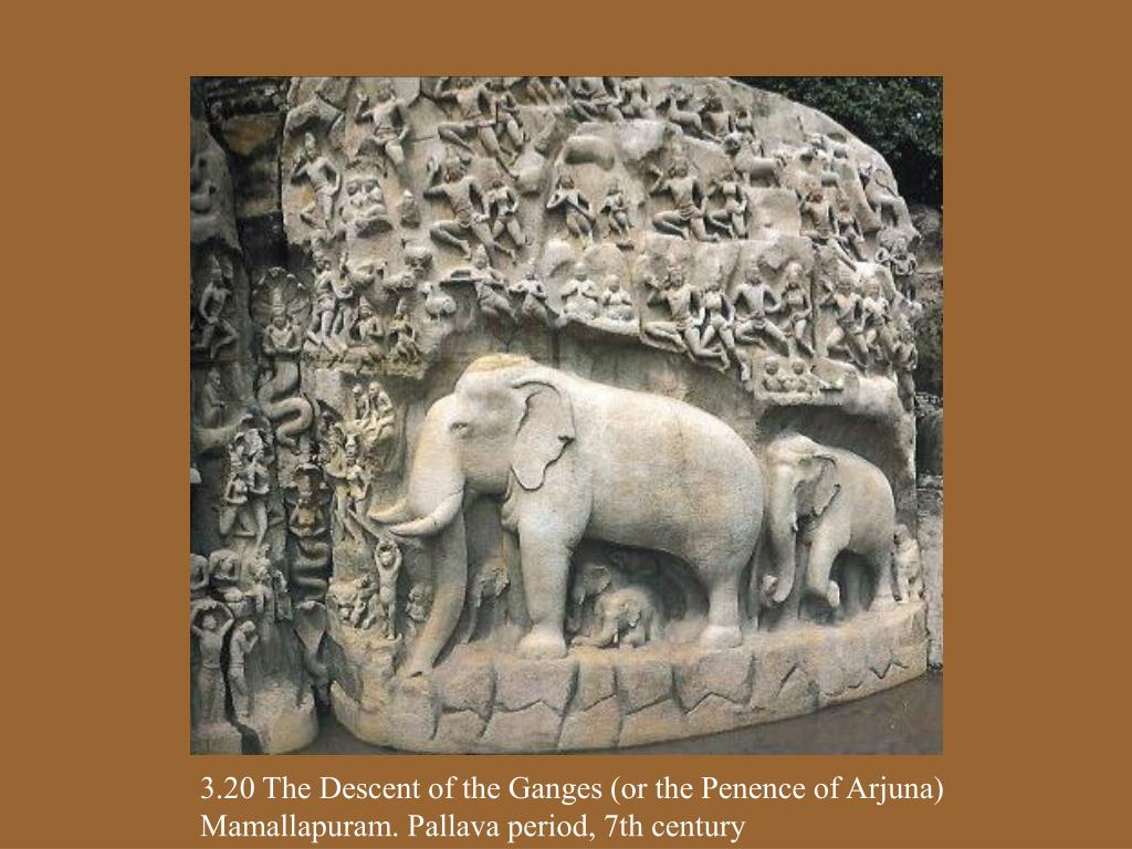 3.20 The Descent of the Ganges (or the Penence of Arjuna)