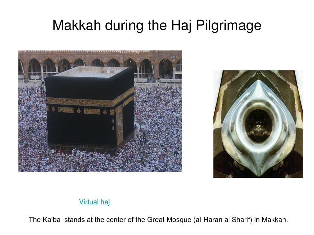 Makkah during the Haj Pilgrimage