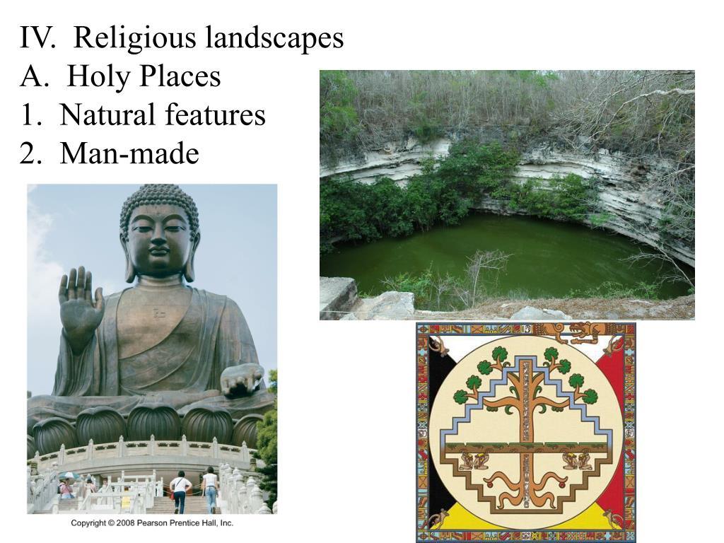 IV.  Religious landscapes