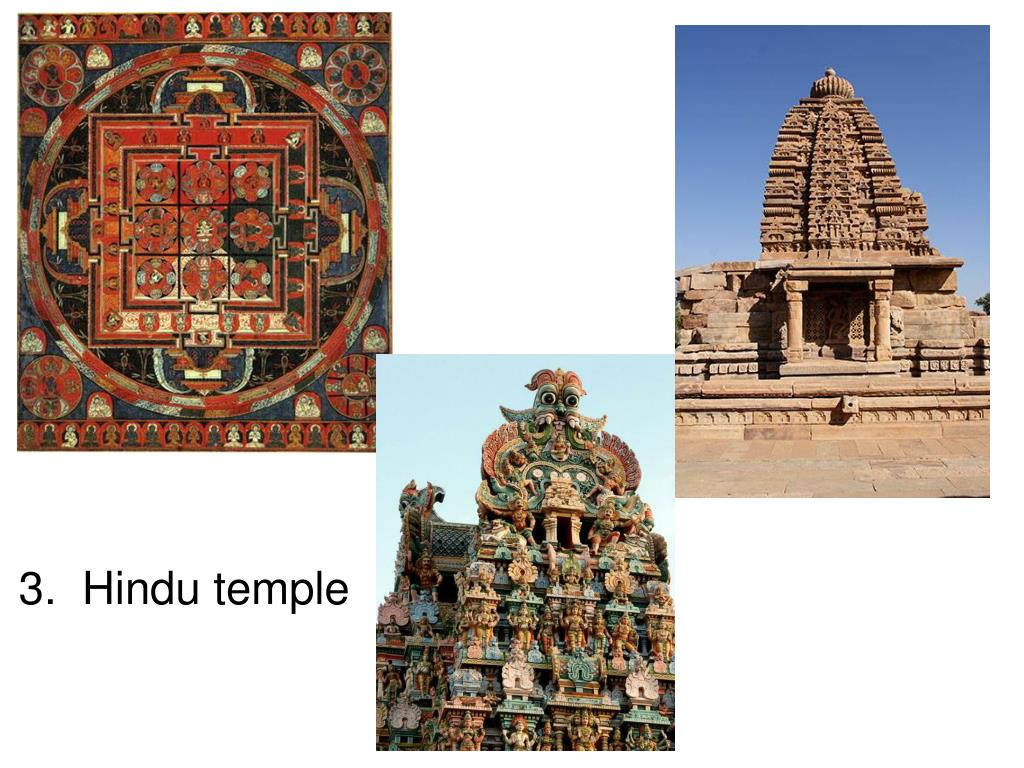 3.  Hindu temple