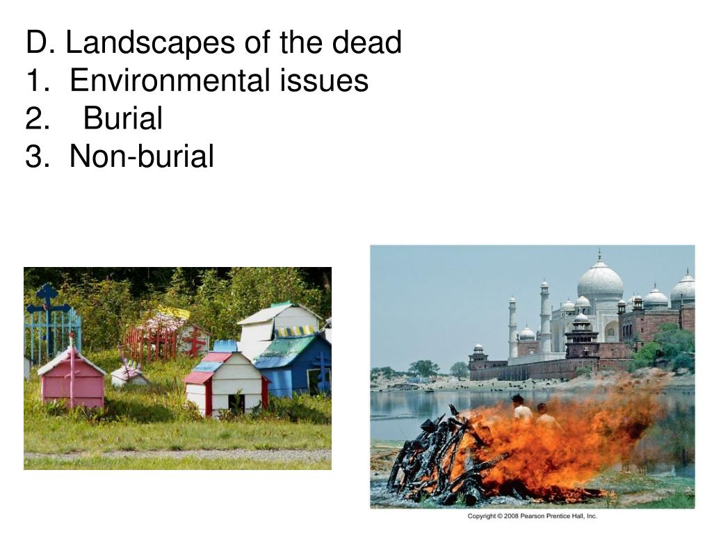 Landscapes of the dead