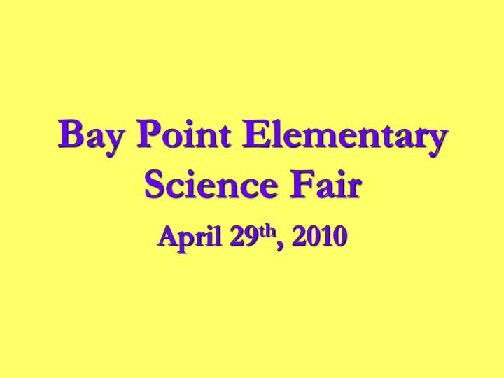 Bay Point Elementary