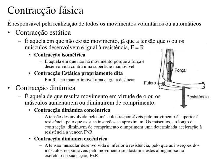 Contracção fásica