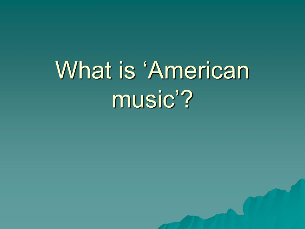 what is american music l.