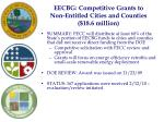 eecbg competitive grants to non entitled cities and counties 18 6 million