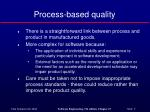 process based quality