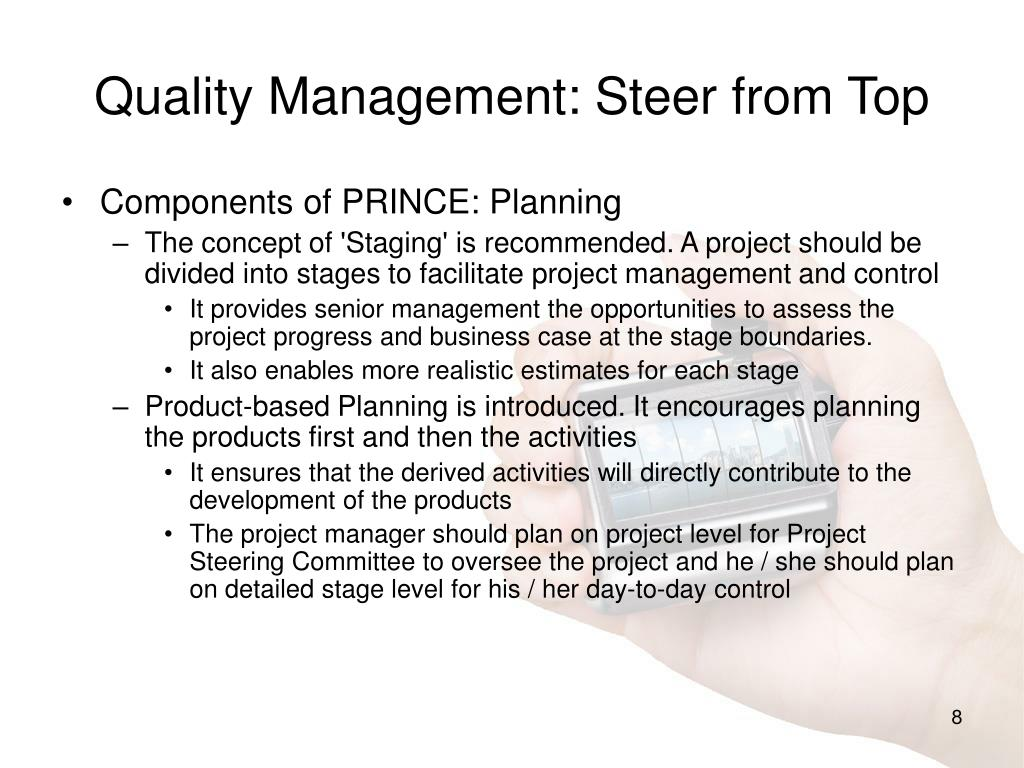 Quality Management: Steer from Top