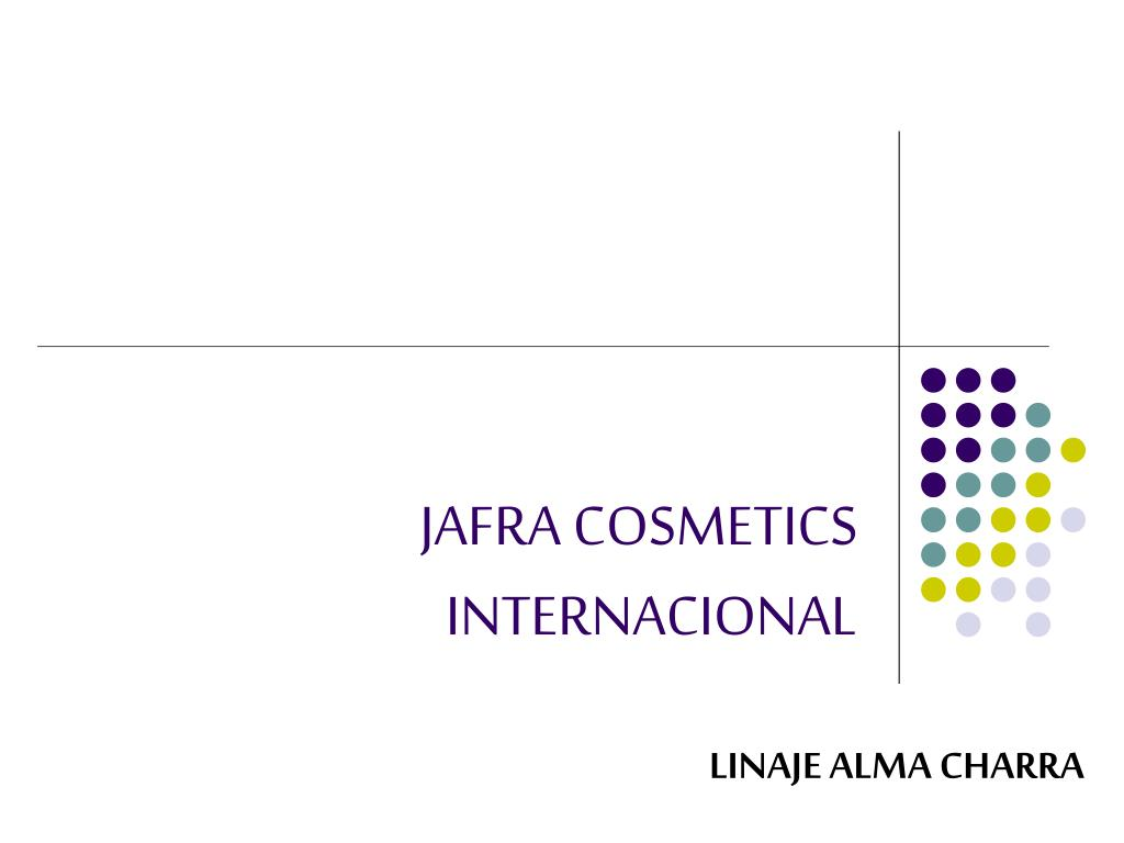 jafra cosmetics internacional l.