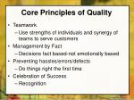core principles of quality22
