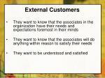 external customers28