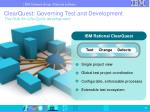 clearquest governing test and development the hub for life cycle development