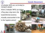 goods movement