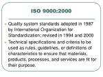 iso 9000 2000