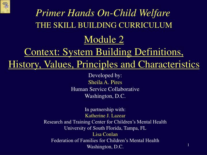 Primer Hands On-Child Welfare