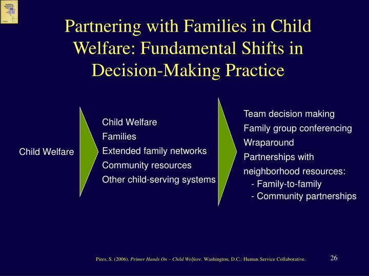 Partnering with Families in Child Welfare: Fundamental Shifts in Decision-Making Practice